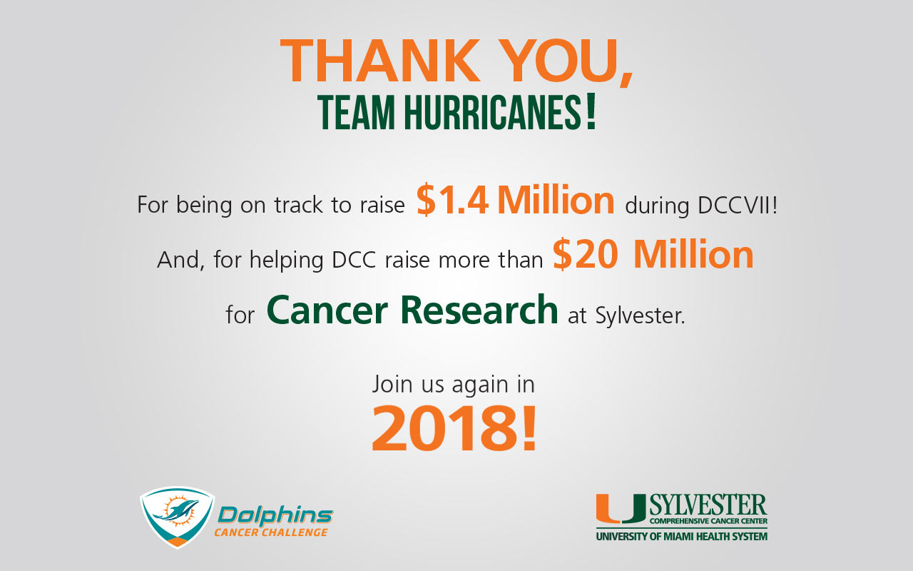 Team Hurricanes Thank you